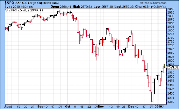 S&P500 Large Cap Index Chart
